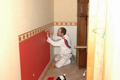 Treppenhaus gestalten mit tapete  Fotogallerie unserer ausgeführten Arbeiten